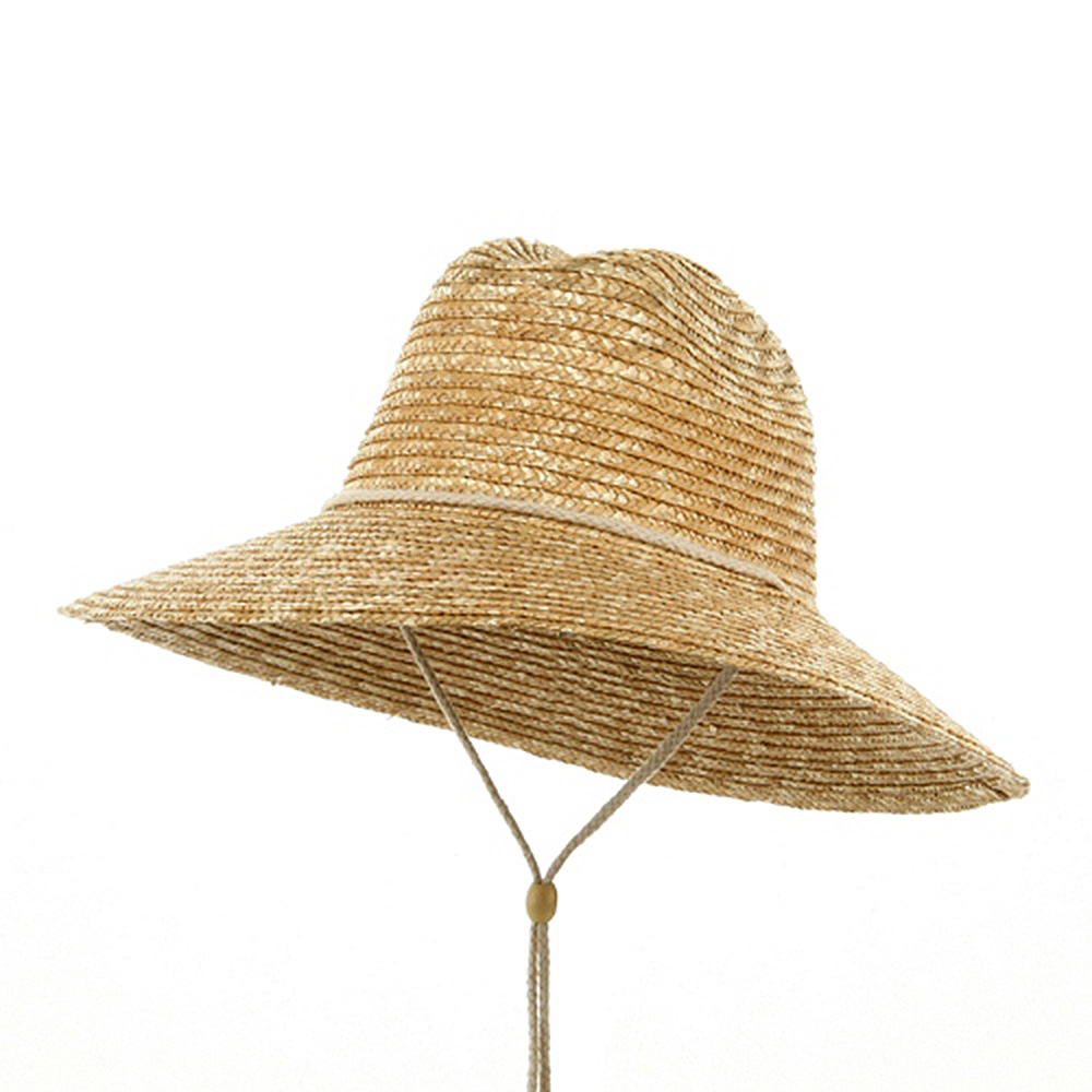 Sewn Wheat Straw Hat-Natural - Hats and Caps Online Shop - Hip Head Gear