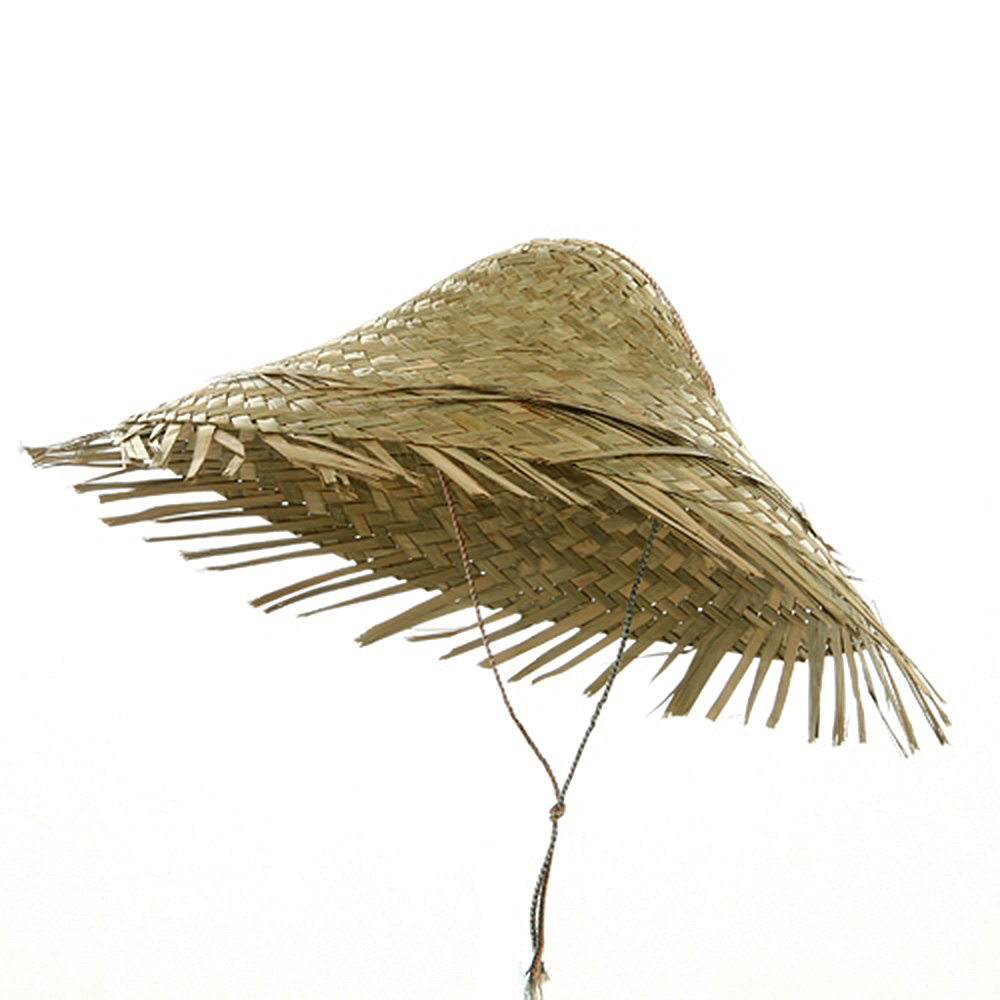 Straw Coolie Hat-Natural - Hats and Caps Online Shop - Hip Head Gear