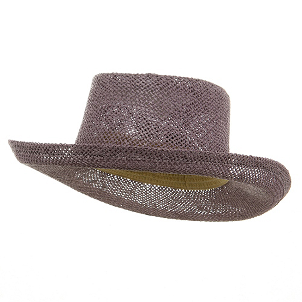 New Gambler Straw Hats-Lavender - Hats and Caps Online Shop - Hip Head Gear