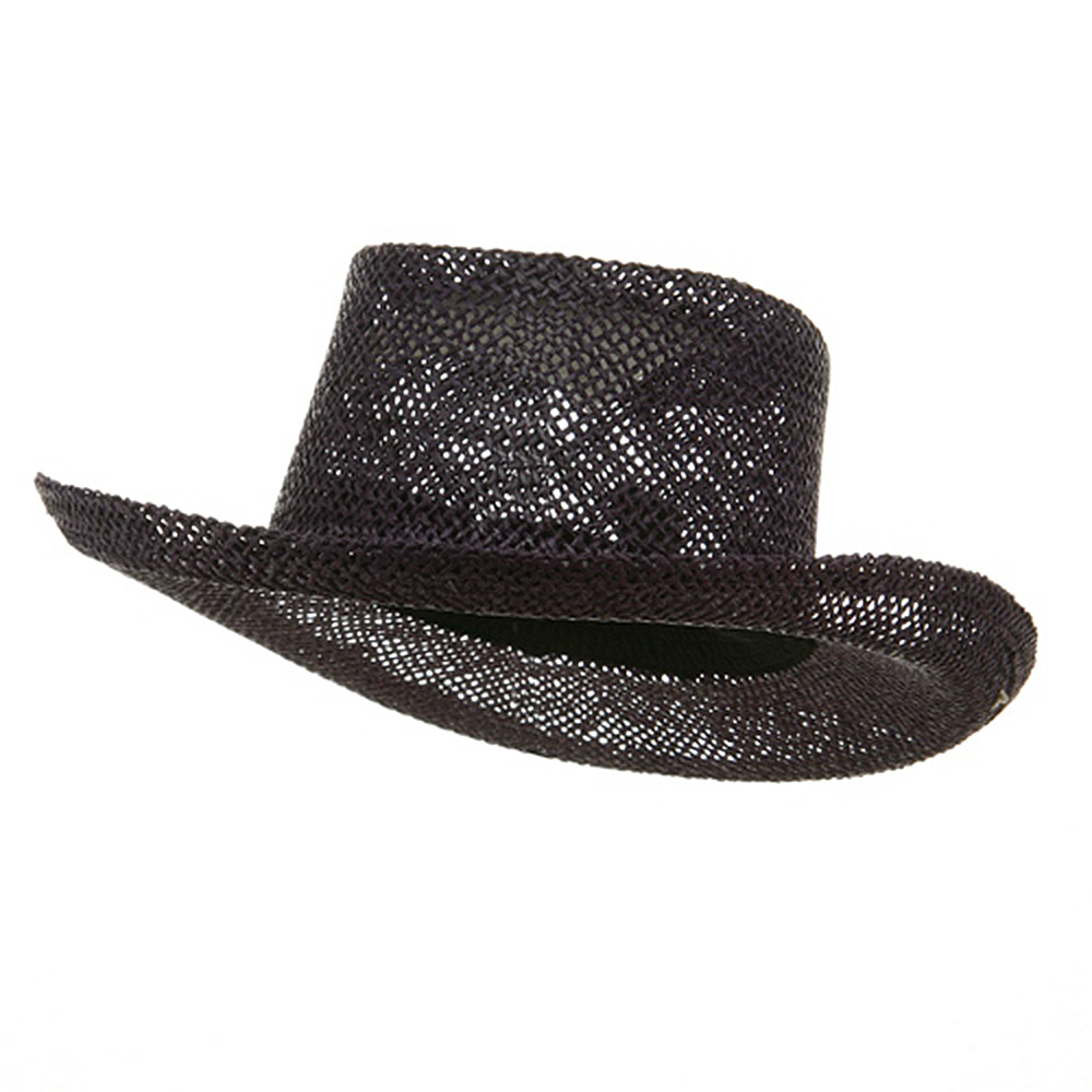 New Gambler Straw Hats-Purple - Hats and Caps Online Shop - Hip Head Gear