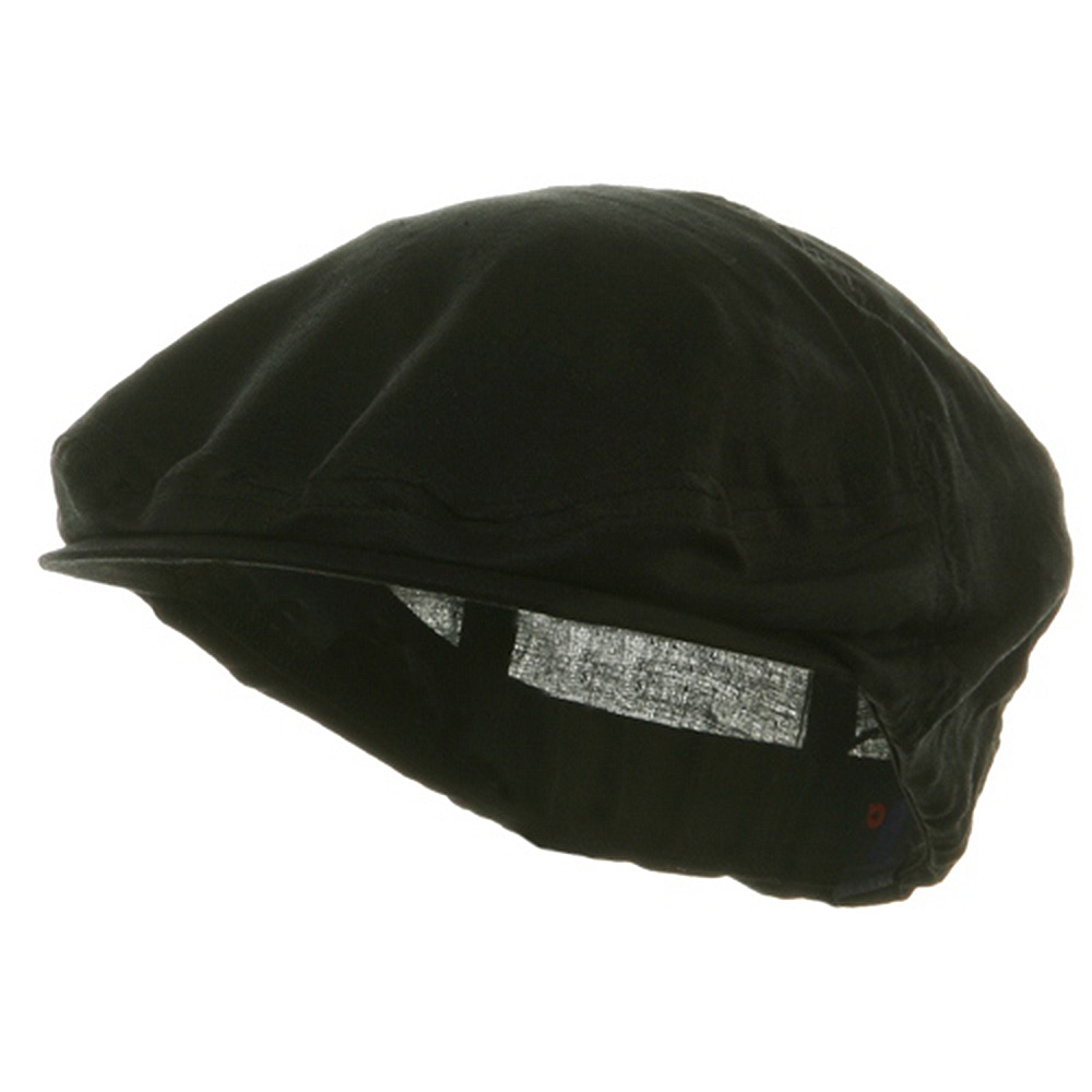 Linen Fashion Ivy Cap - Black - Hats and Caps Online Shop - Hip Head Gear