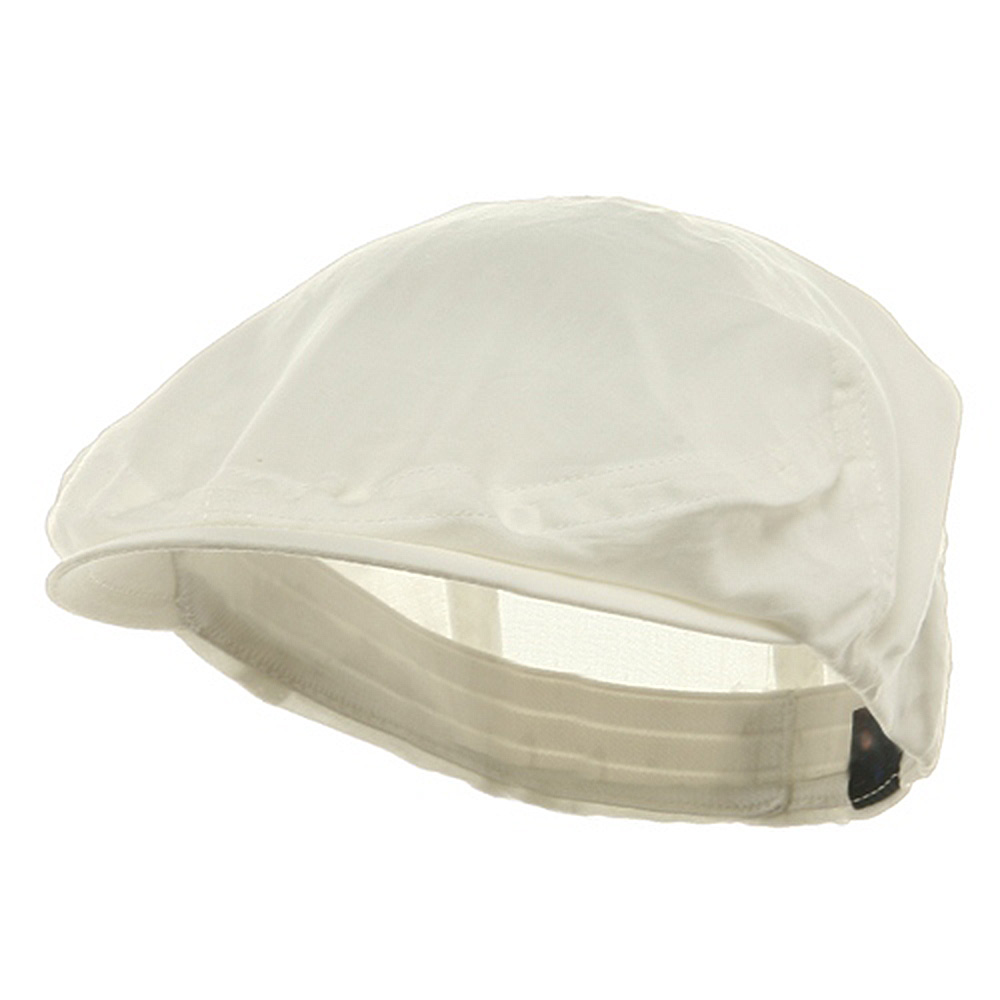 Linen Fashion Ivy Cap - Ivory - Hats and Caps Online Shop - Hip Head Gear