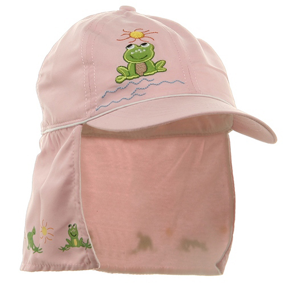 Children Micro Fiber Flap Cap - Pink - Hats and Caps Online Shop - Hip Head Gear
