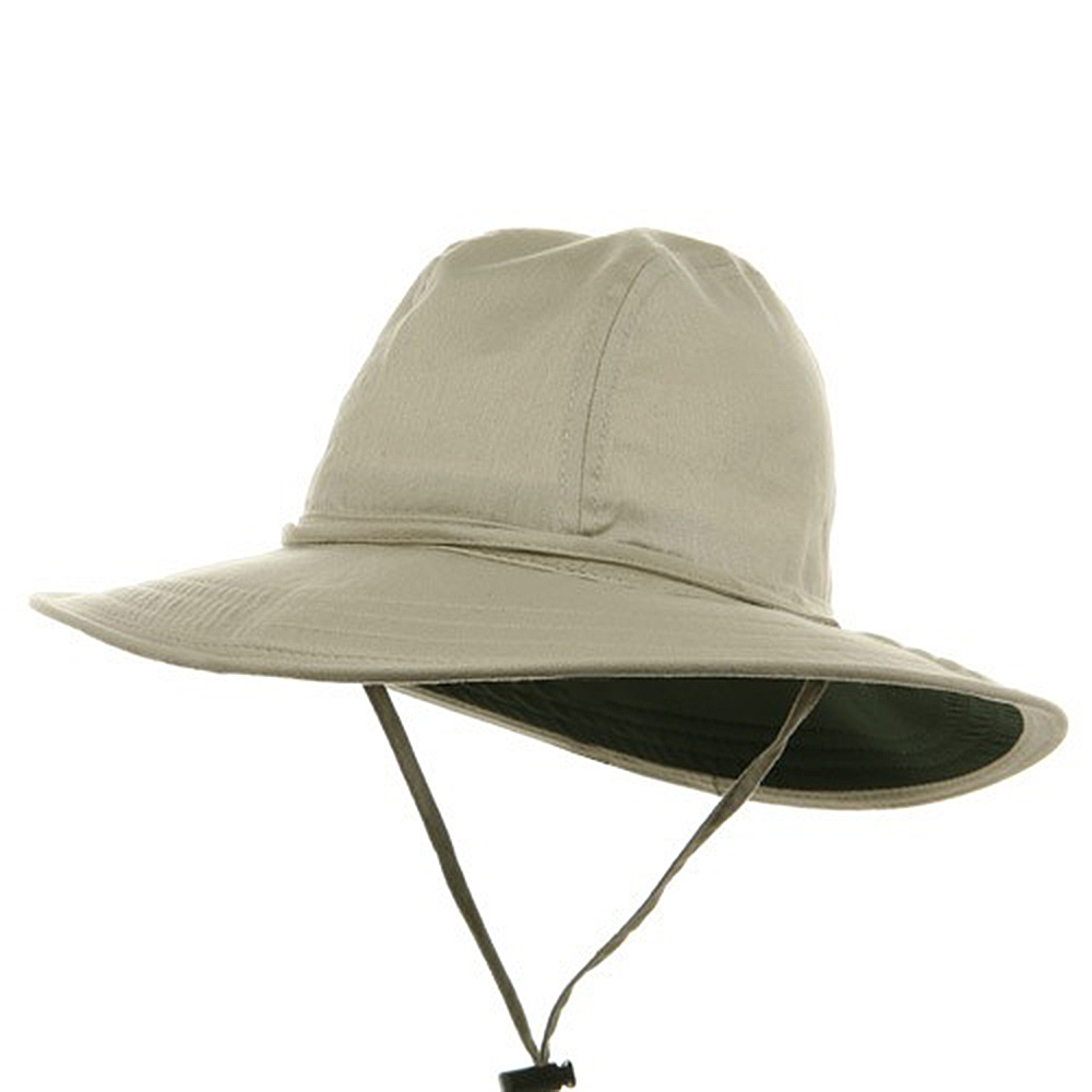 SPF 50+ Sun Protection Trail Hat-Oatmeal - Hats and Caps Online Shop - Hip Head Gear