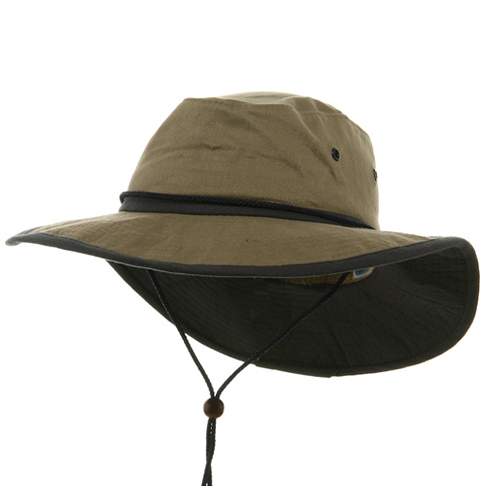 SPF 50+ Solarweave Rafting Hats-Khaki Navy - Hats and Caps Online Shop - Hip Head Gear