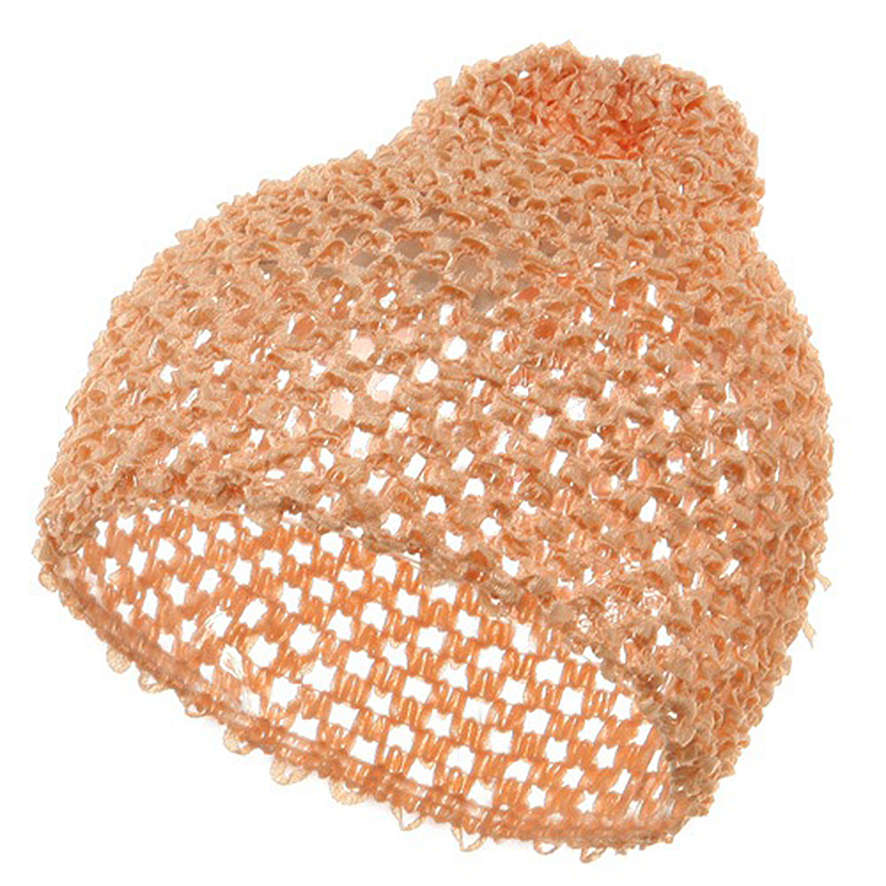 Ballerina Hair Net Cap-Light Orange - Hats and Caps Online Shop - Hip Head Gear