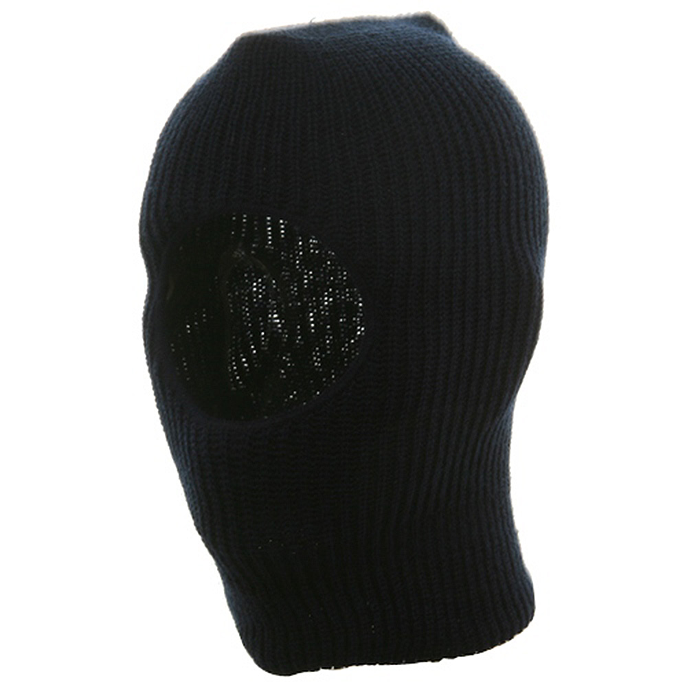Child One Hole Ski Mask-Navy - Hats and Caps Online Shop - Hip Head Gear