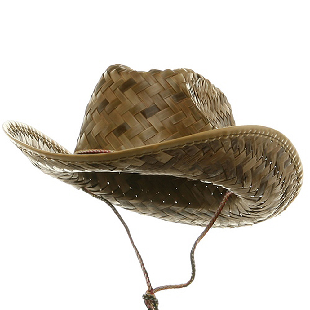 Child Cocoa Straw Western Hat-Cocoa - Hats and Caps Online Shop - Hip Head Gear