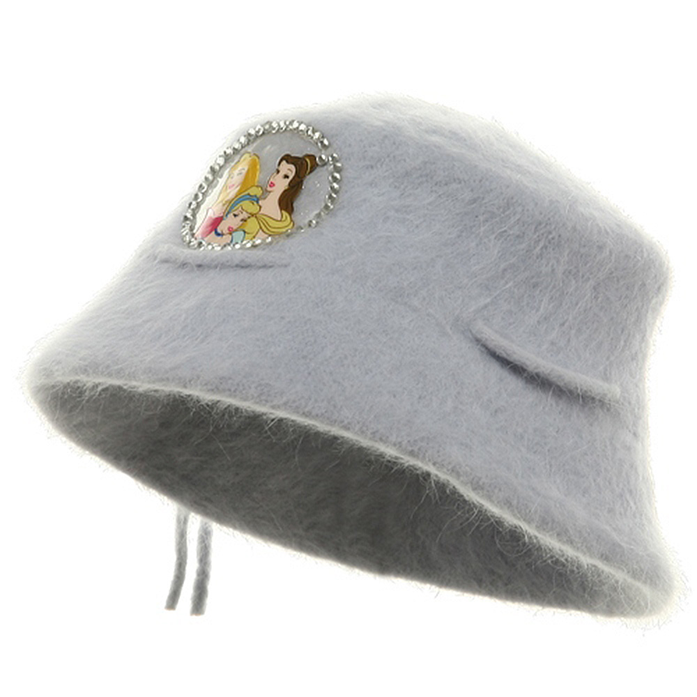 Princess Girl's Mohair Bucket Hat-Lilac