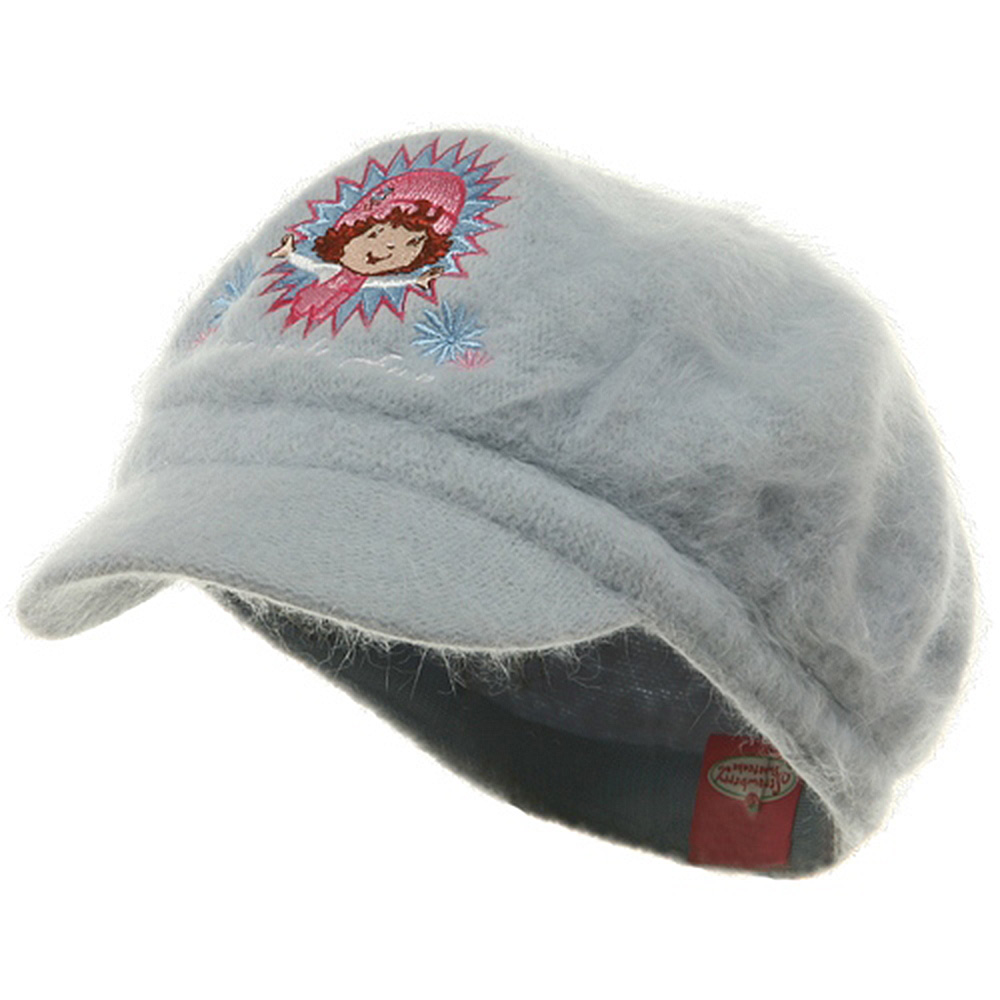 Strawberry Girl's Mohair Newsboy Cap-Blue - Hats and Caps Online Shop - Hip Head Gear