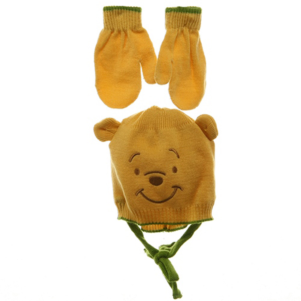 Pooh Beanies-Green Yellow - Hats and Caps Online Shop - Hip Head Gear