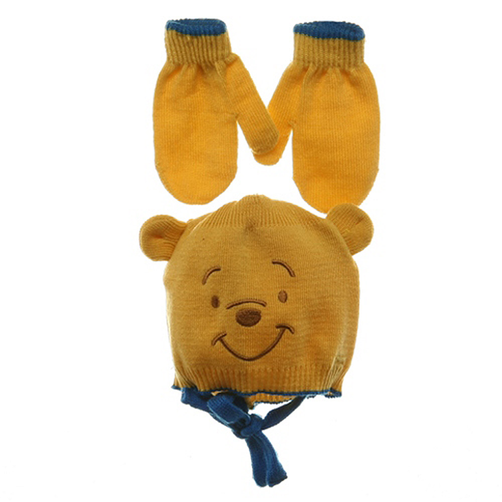 Pooh Beanies-Blue Yellow - Hats and Caps Online Shop - Hip Head Gear