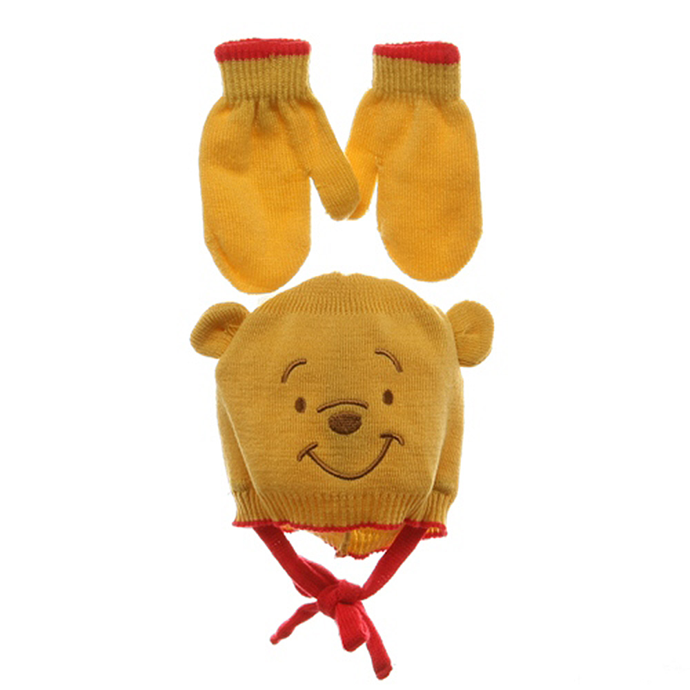 Pooh Beanies-Red Yellow
