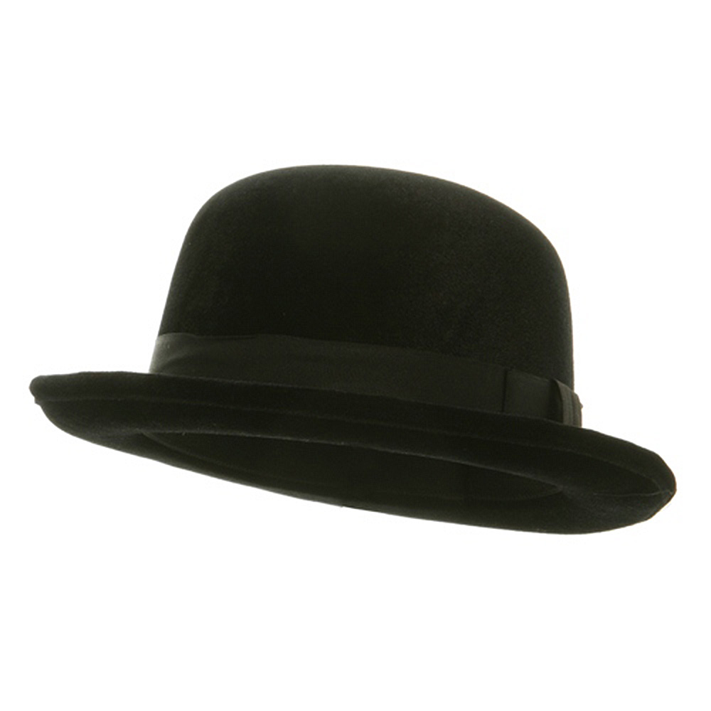 Top Hat - Bowler Black - Hats and Caps Online Shop - Hip Head Gear