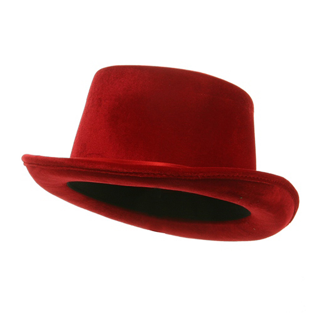 Top Hat - Red - Hats and Caps Online Shop - Hip Head Gear