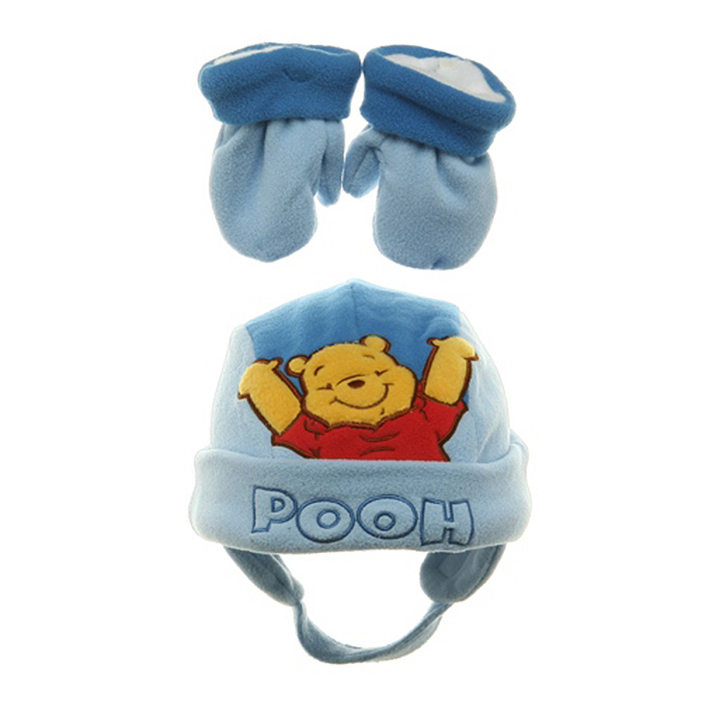 Pooh Fleece Beanie - Sky Fleece - Hats and Caps Online Shop - Hip Head Gear