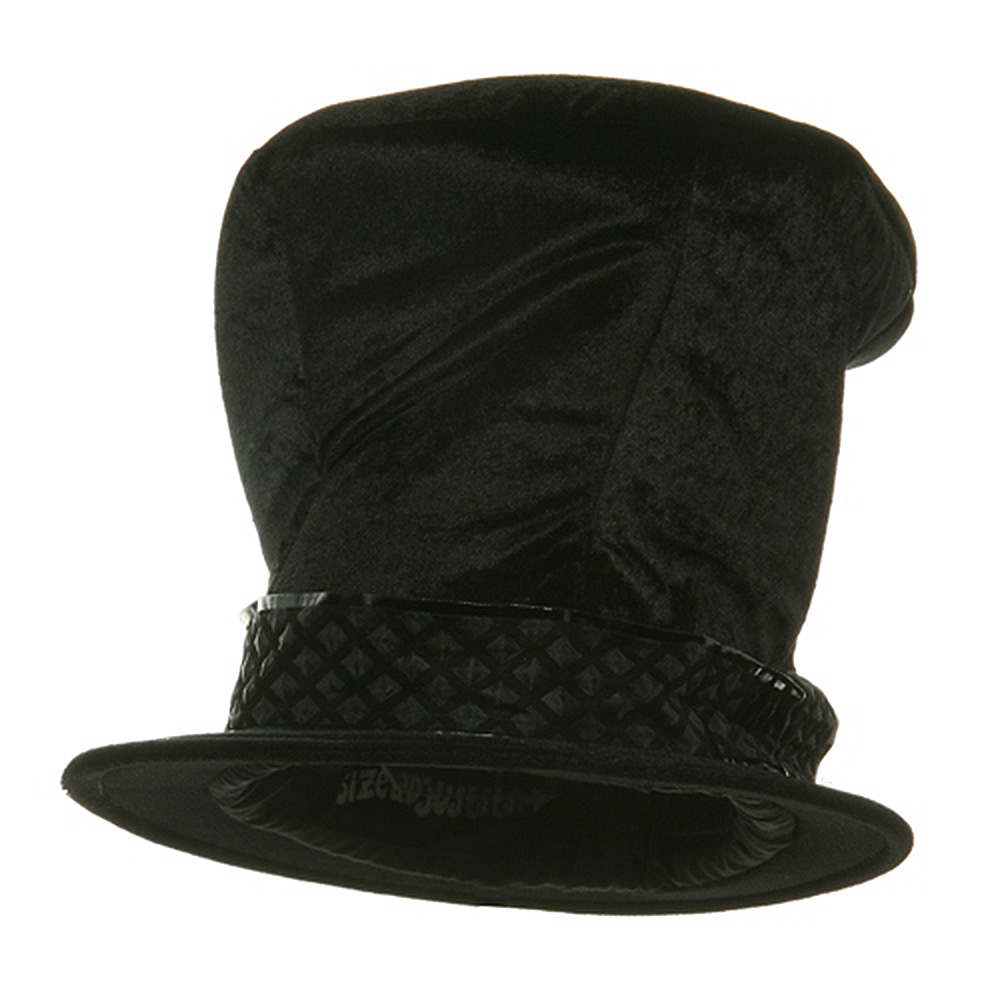 Top Hat - Shiny Black - Hats and Caps Online Shop - Hip Head Gear