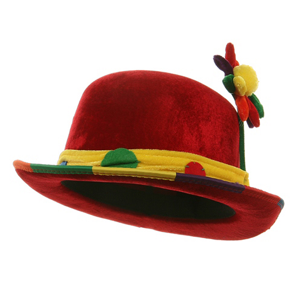 Top Hat - Clown Bowler - Hats and Caps Online Shop - Hip Head Gear