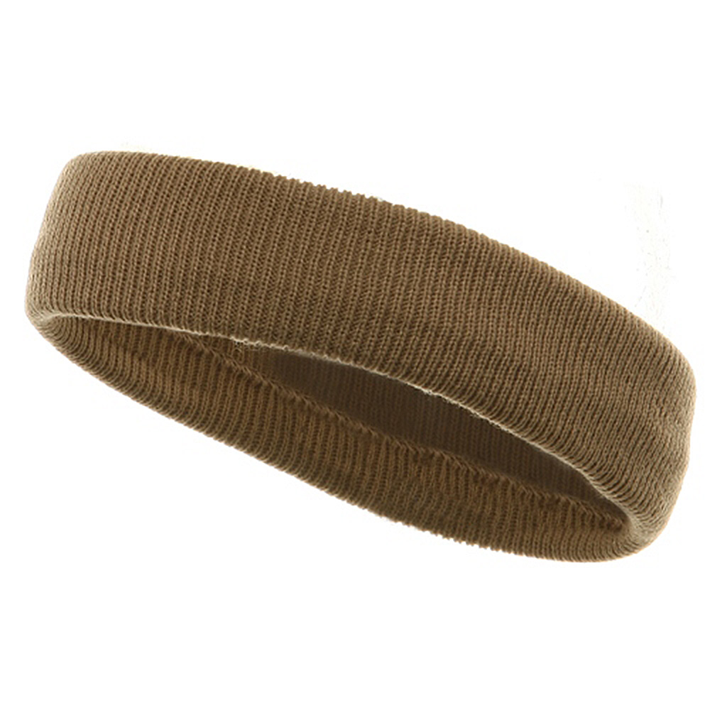 Headbands(regular)-Khaki - Hats and Caps Online Shop - Hip Head Gear