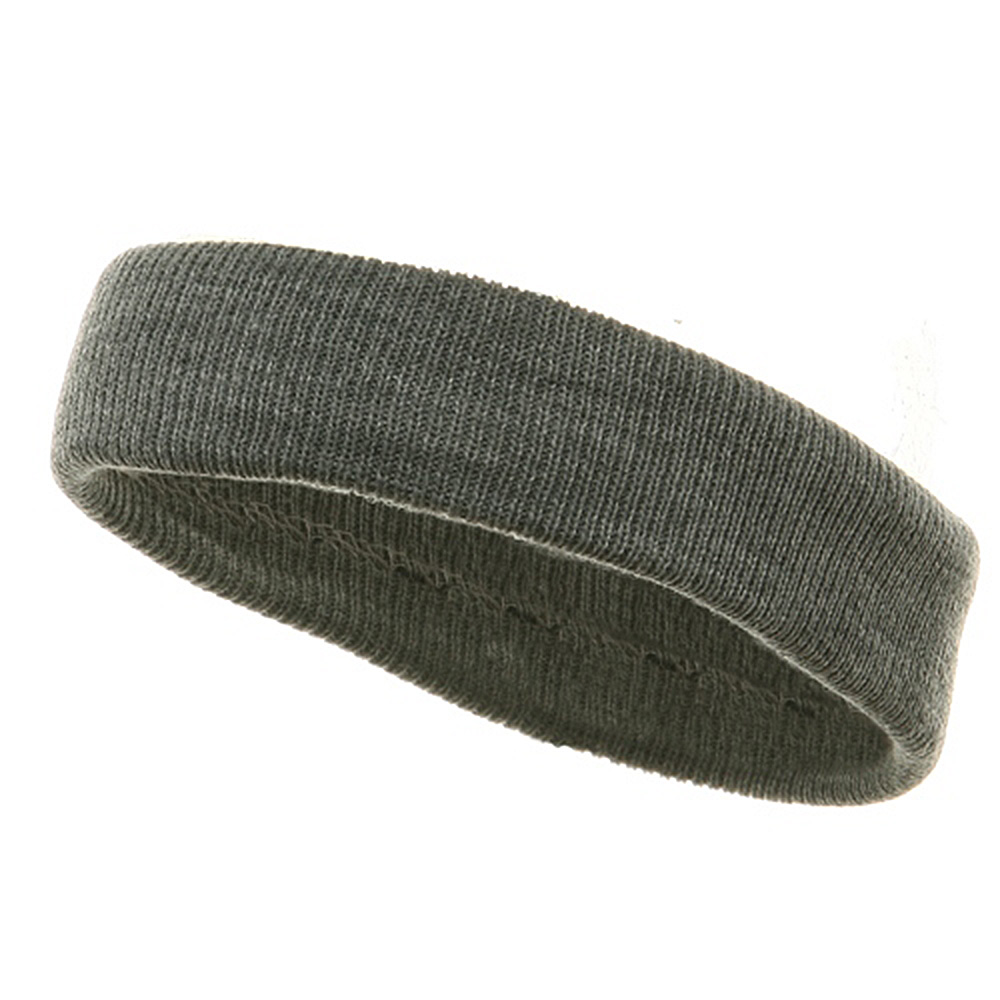Headband(regular)-Lt Grey - Hats and Caps Online Shop - Hip Head Gear