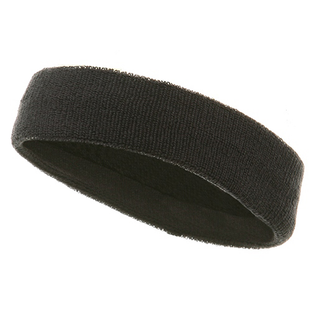 Headbands (terry)-Dk Grey - Hats and Caps Online Shop - Hip Head Gear