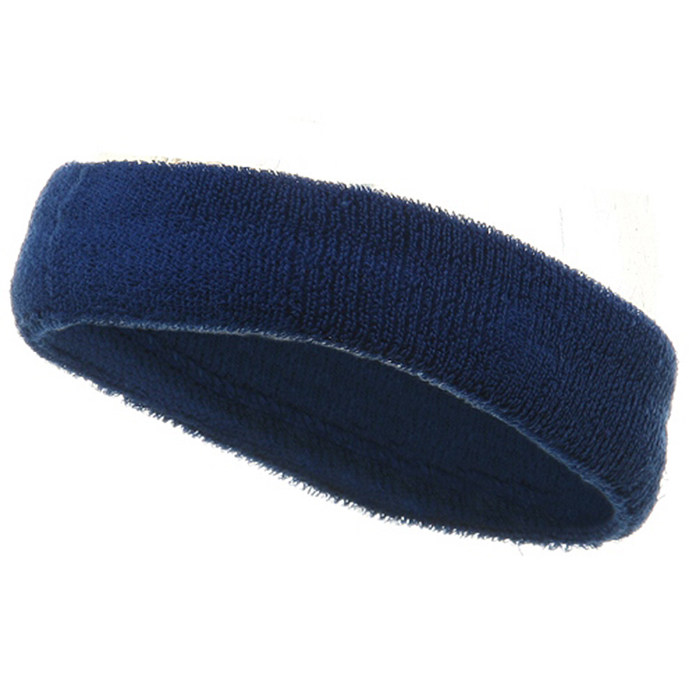Head Bands (terry)-Royal - Hats and Caps Online Shop - Hip Head Gear