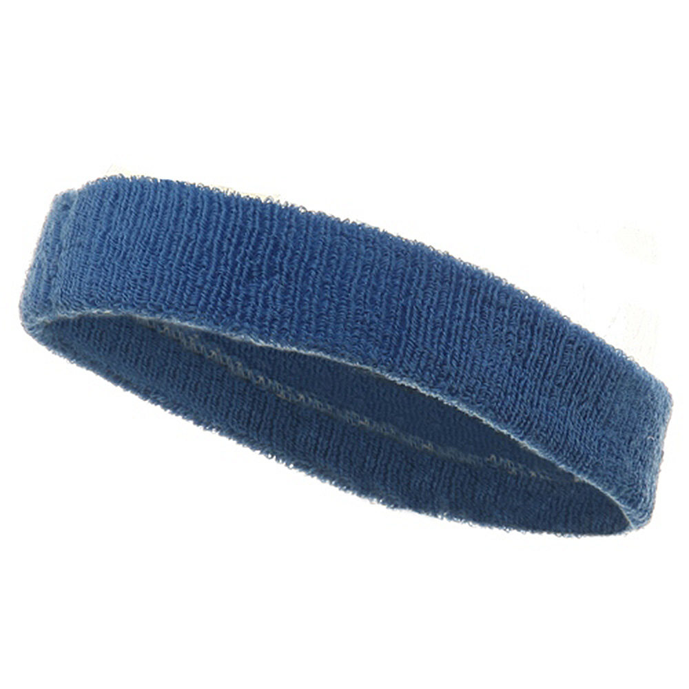Head Band (terry)-Sky - Hats and Caps Online Shop - Hip Head Gear