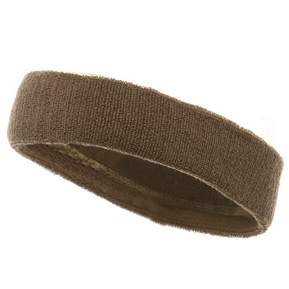 Headbands (terry)-Khaki - Hats and Caps Online Shop - Hip Head Gear