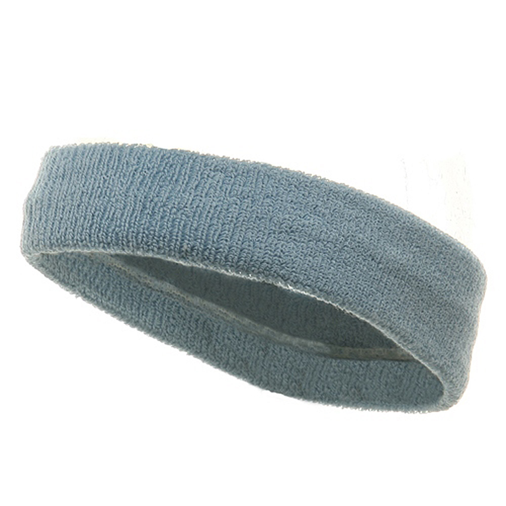Head Band (terry)-Powder - Hats and Caps Online Shop - Hip Head Gear