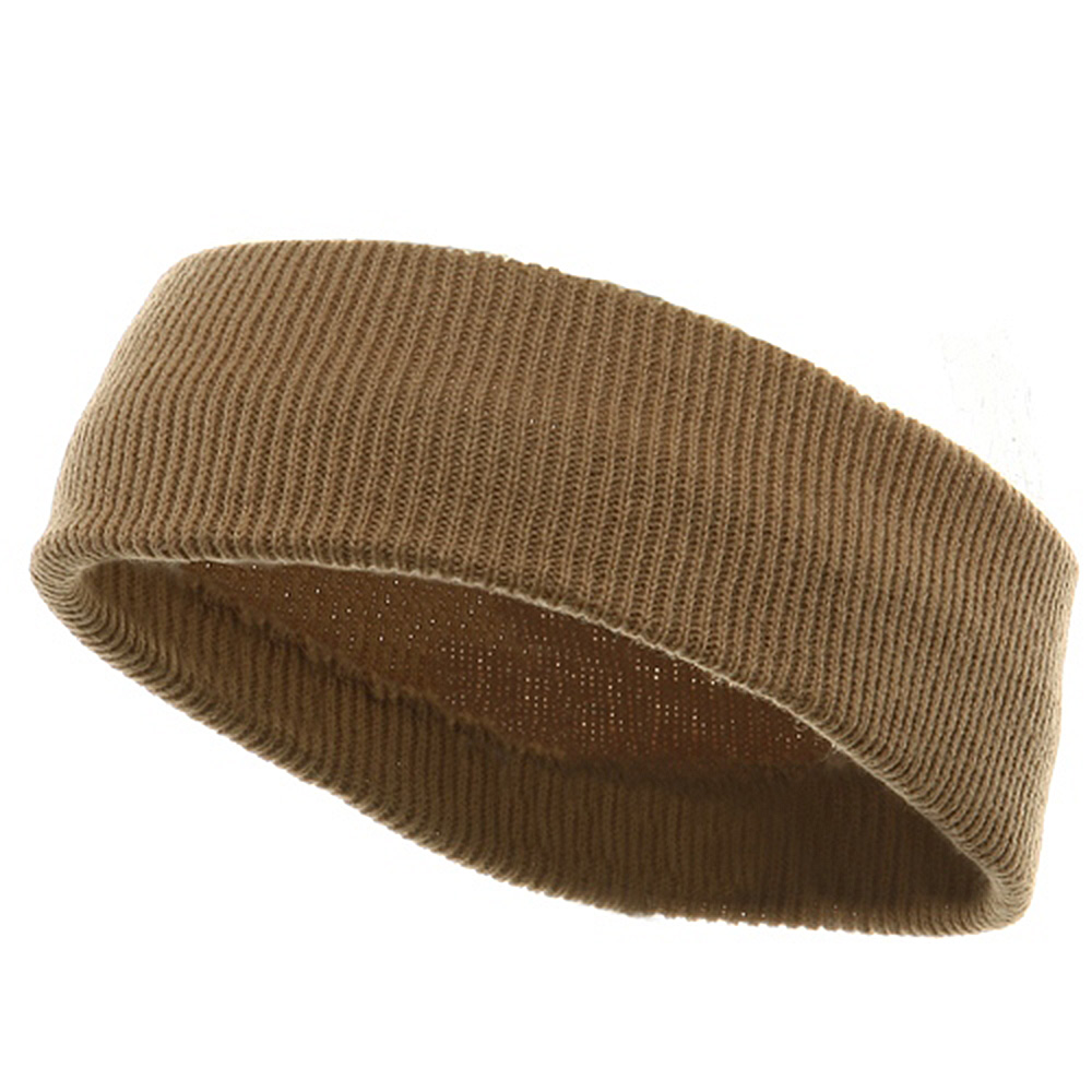 Head Band (wide)-Khaki - Hats and Caps Online Shop - Hip Head Gear