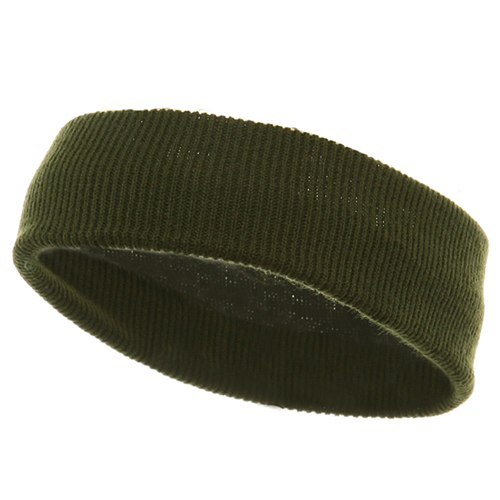 Head Band (wide)-Olive - Hats and Caps Online Shop - Hip Head Gear