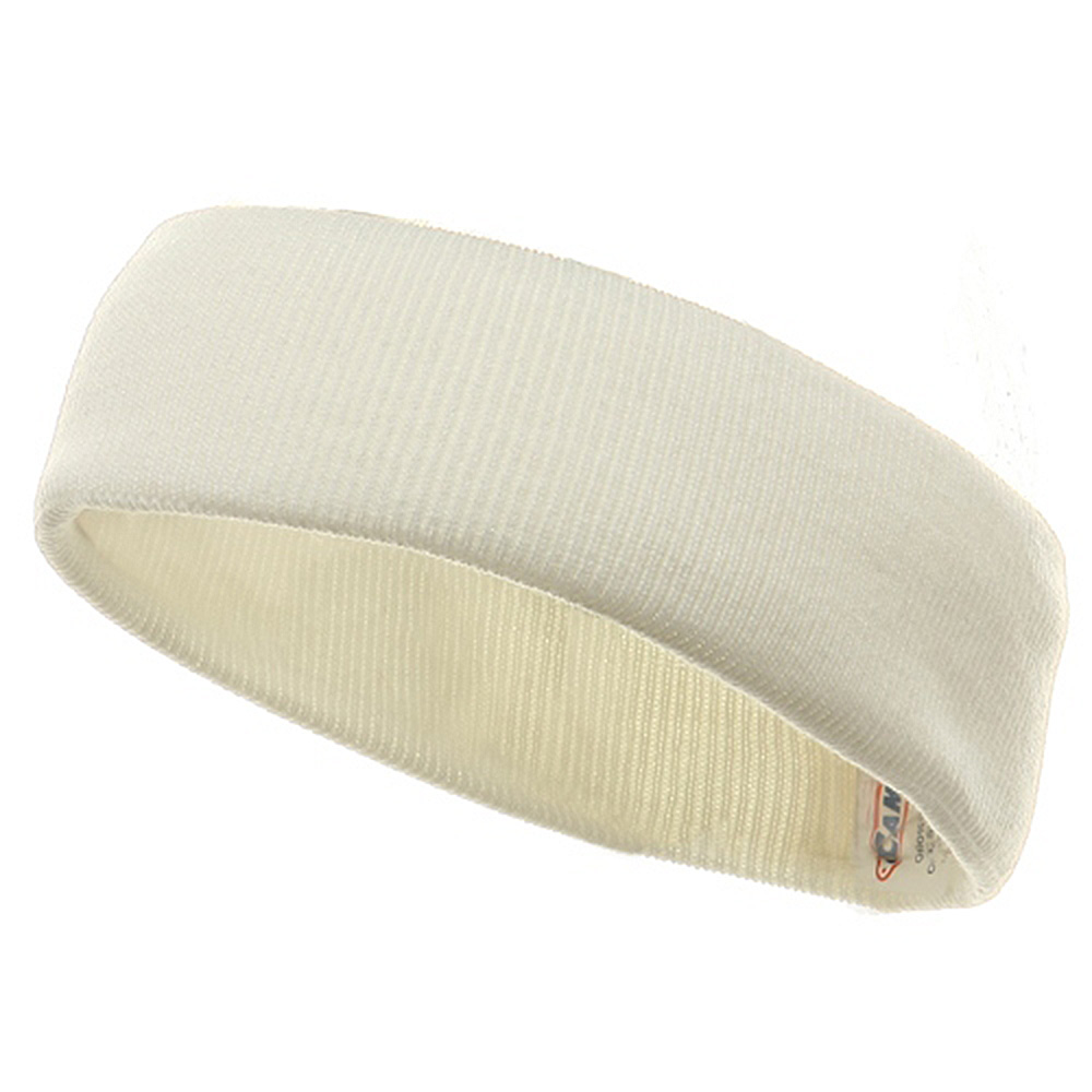 Head Band (wide)-White - Hats and Caps Online Shop - Hip Head Gear