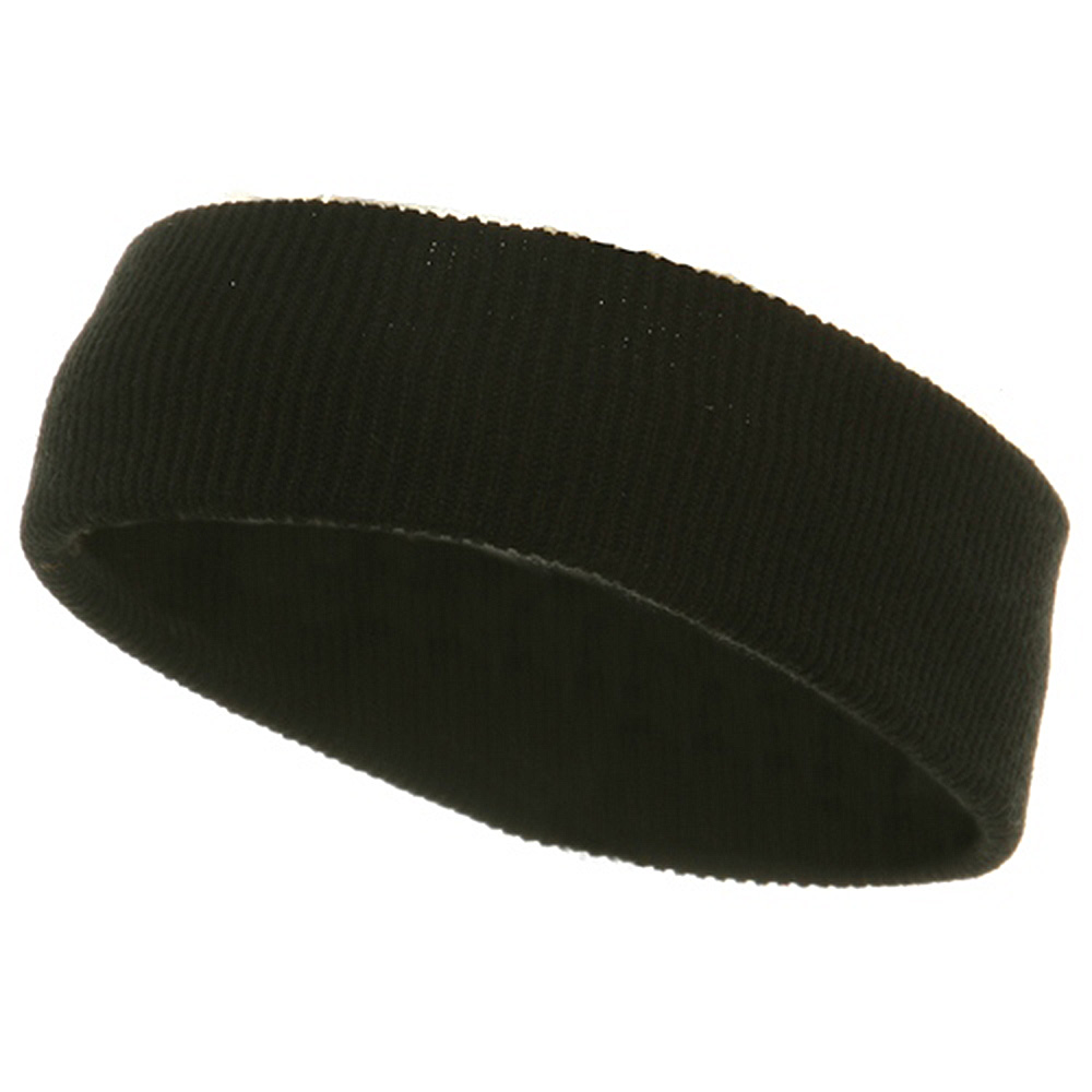 Head bands (wide)-Black - Hats and Caps Online Shop - Hip Head Gear