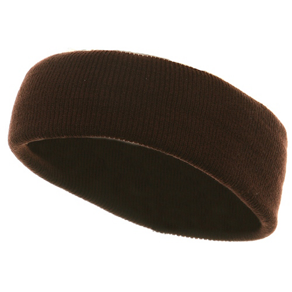 Head Bands (wide)-Brown - Hats and Caps Online Shop - Hip Head Gear