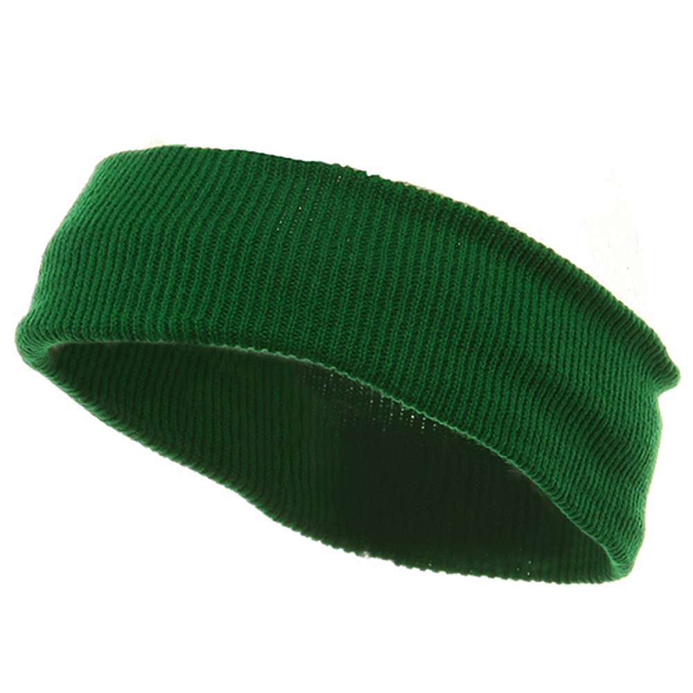 Head Bands (wide)-Kelly - Hats and Caps Online Shop - Hip Head Gear