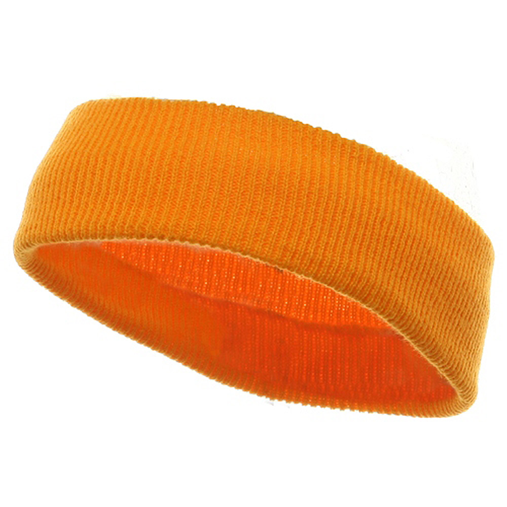 Head Bands (wide)-Yellow - Hats and Caps Online Shop - Hip Head Gear