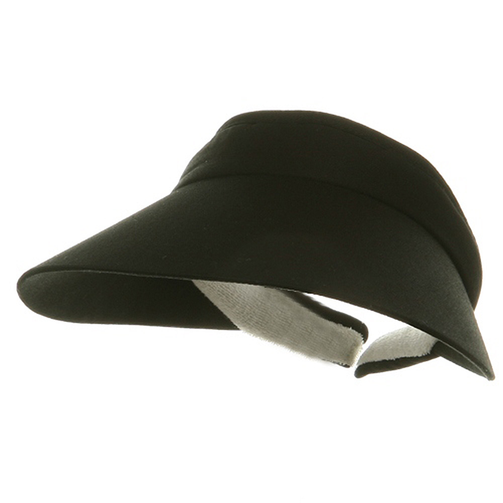 Large Peak Twill Clip On-Black - Hats and Caps Online Shop - Hip Head Gear