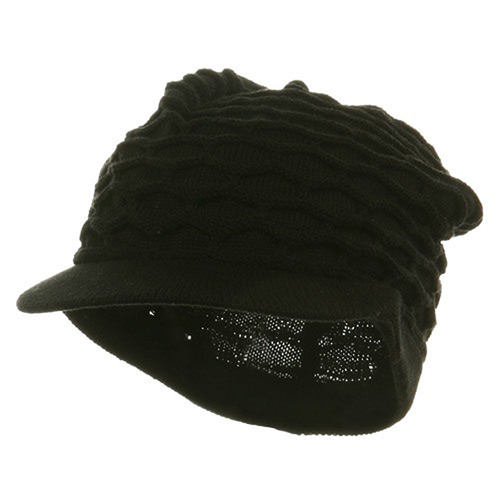 Honey Beanies Visor-Black - Hats and Caps Online Shop - Hip Head Gear