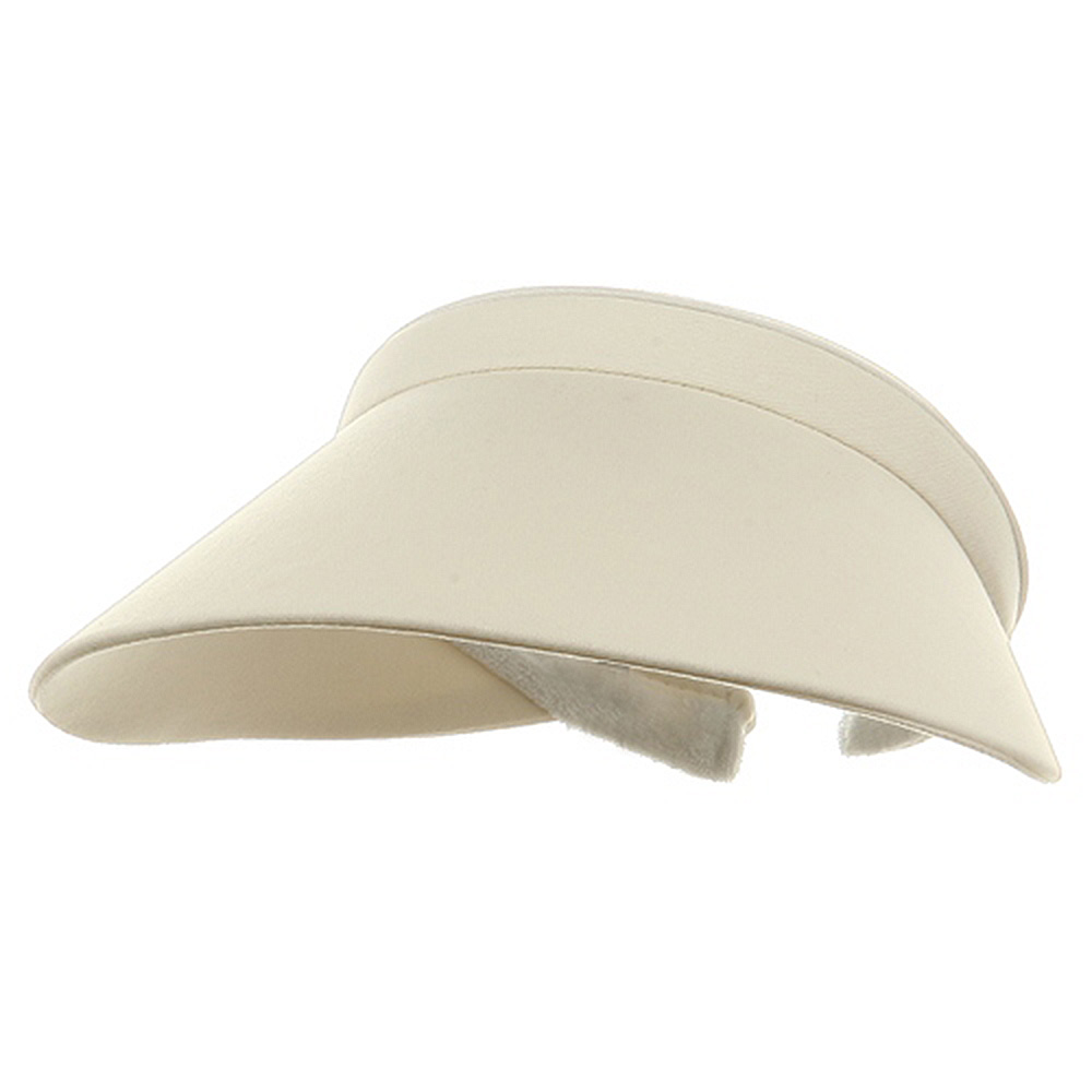 Ladies Clip On Visor-Natural - Hats and Caps Online Shop - Hip Head Gear