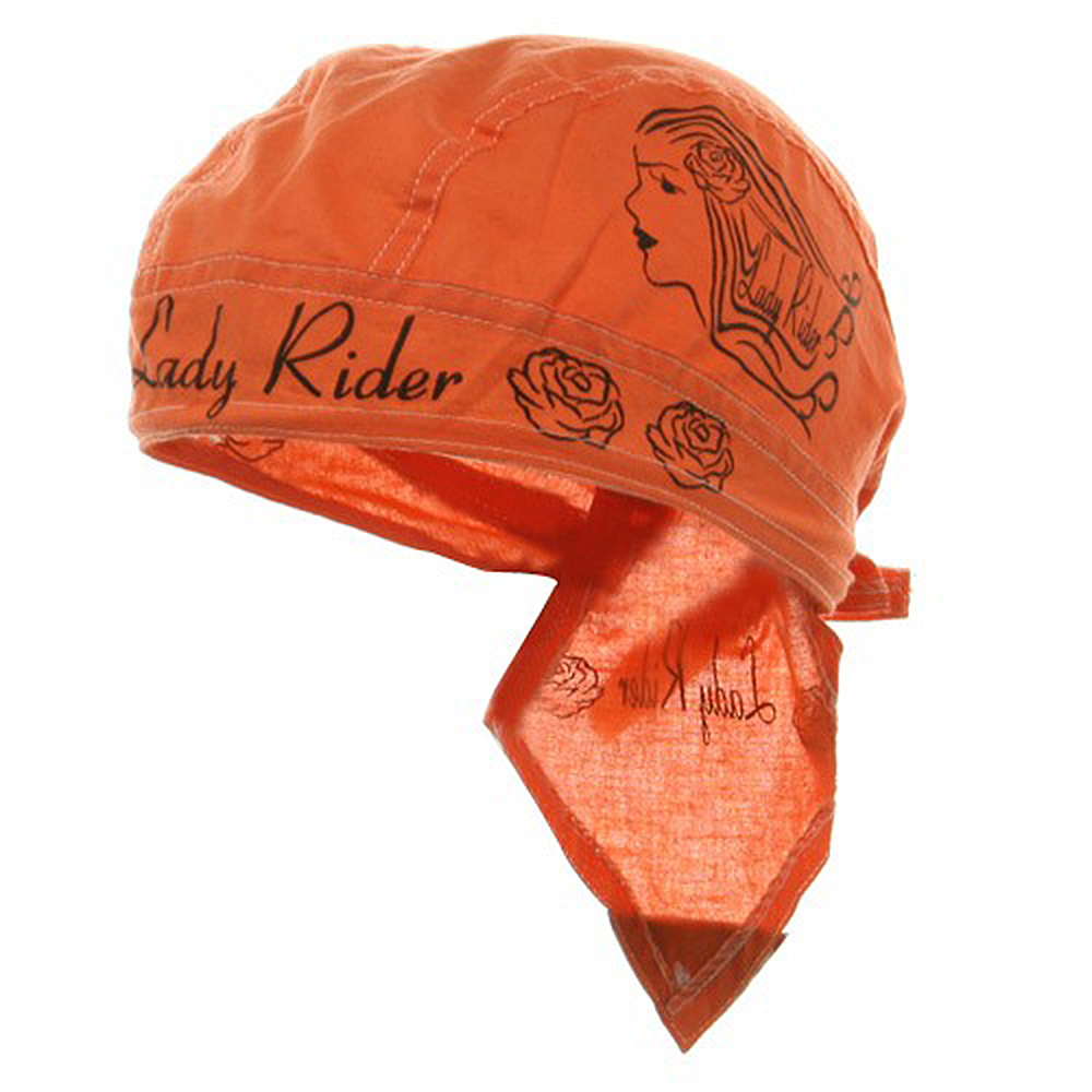 Biker Series Headwrap-Lady Rider - Hats and Caps Online Shop - Hip Head Gear