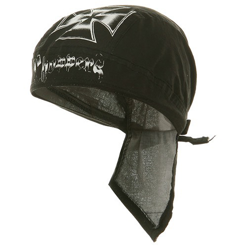 Biker Series Headgears-White Chopper - Hats and Caps Online Shop - Hip Head Gear