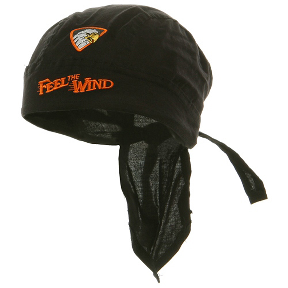 Embroidery Series Head Wrap-Feel The Wind - Hats and Caps Online Shop - Hip Head Gear