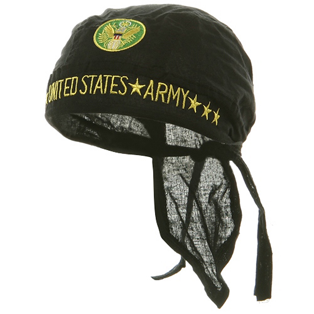 Embroidery Series Head Wrap-United States Army - Hats and Caps Online Shop - Hip Head Gear