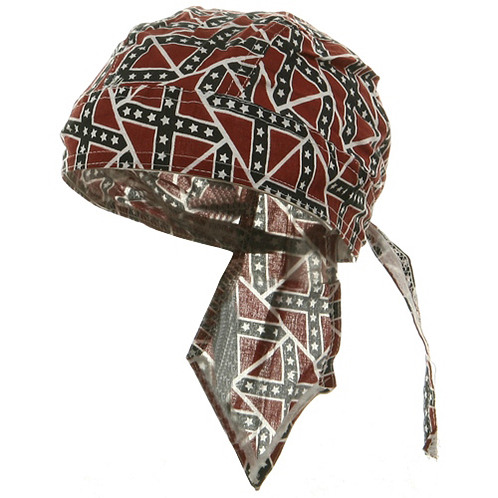 Flag Series Headwraps-Small Rebel Flag - Hats and Caps Online Shop - Hip Head Gear