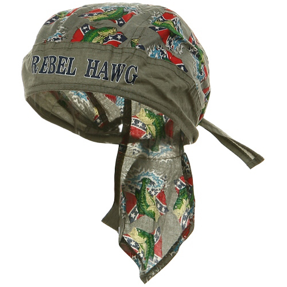Flag Series Headwraps-Rebel-Hawg - Hats and Caps Online Shop - Hip Head Gear