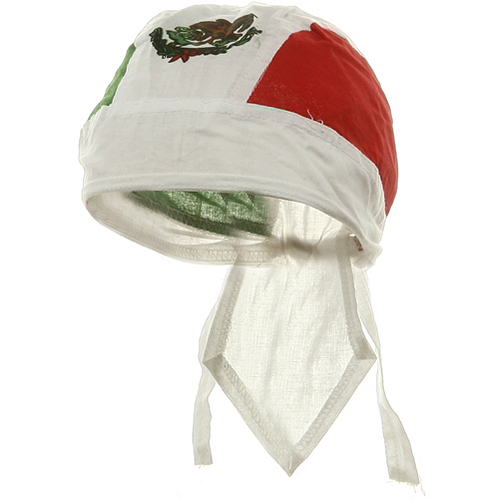Flag Series Headwraps-Mexican - Hats and Caps Online Shop - Hip Head Gear