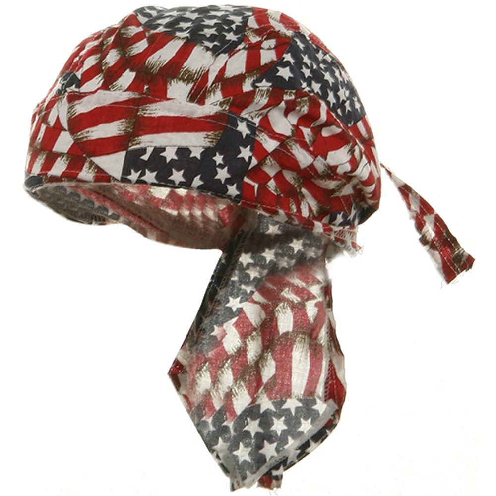 Flag Series Headwraps-Repeat USA Flags - Hats and Caps Online Shop - Hip Head Gear