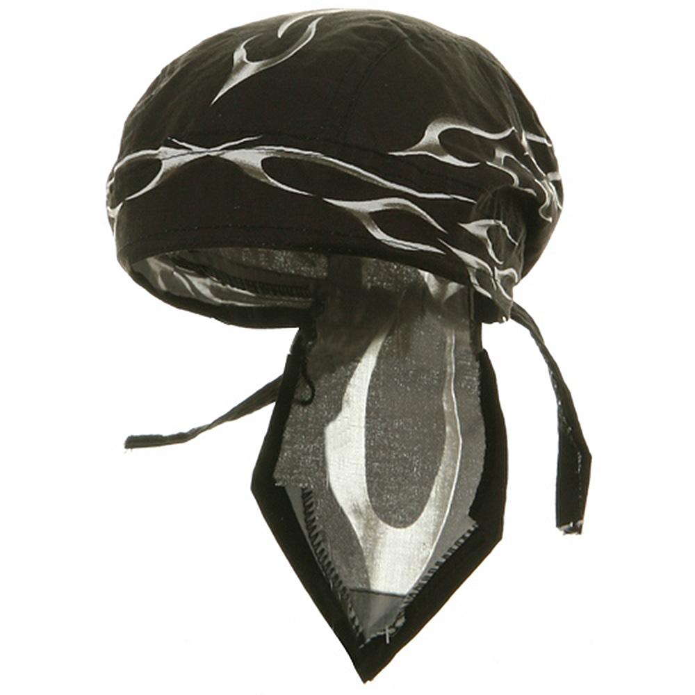 Flame Series Head Wrap-Tank Flame Black - Hats and Caps Online Shop - Hip Head Gear
