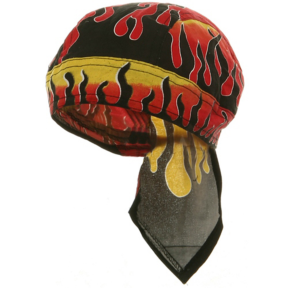 Flame Series Head Wrap-Reverse Flame - Hats and Caps Online Shop - Hip Head Gear