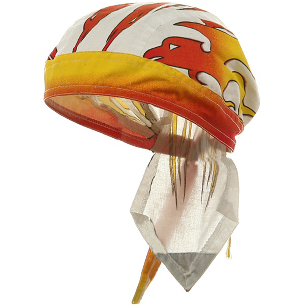 Flame Series Head Wrap-Fire Bird - Hats and Caps Online Shop - Hip Head Gear